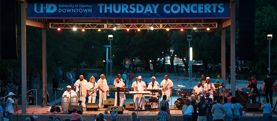 Thursday Night Concert at Discovery Green